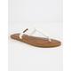 VOLCOM Fishtail White Womens Sandals