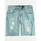 RSQ Boys Ripped Denim Shorts