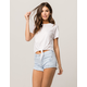 RSQ Venice Mid Rise Womens Denim Shorts