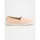 TOMS Avalon Bloom Slubby Womens Classic Slip-Ons