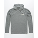 THE NORTH FACE Triblend Mens Grey Hooded T-Shirt
