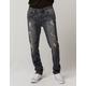 RSQ London Rip N Repair Mens Skinny Jeans