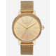 NIXON Kensington Milanese Gold Watch