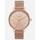 NIXON Kensington Milanese Rose Gold Watch