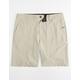 NITROUS BLACK Format Putty Mens Hybrid Shorts