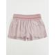 REWASH Solid Smocked Girls Shorts