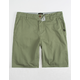 QUIKSILVER Everyday Green Mens Chino Shorts