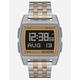 NIXON Base Silver & Light Gold Watch