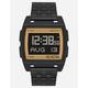 NIXON Base Black & Gold Watch