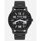 NIXON Ascender Black & Lum Watch