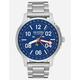 NIXON Ascender Silver & Blue Watch