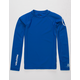 VOLCOM Lido Blue Boys Rash Guard