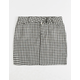 LOVE FIRE Gingham Girls Skirt