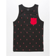 BLUE CROWN Rock Lobster Mens Pocket Tank Top