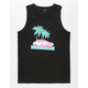 BLUE CROWN Malibu Mens Tank Top
