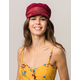 BRIXTON Albany Burgundy Womens Fiddler Cap