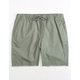 BRIXTON Madrid Grey Mens Shorts