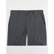 HURLEY Dri-FIT Black Mens Chino Shorts