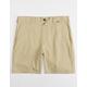 HURLEY Dri-FIT Khaki Mens Chino Shorts