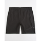 HURLEY Alpha Trainer Black Mens Volley Shorts