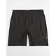 HURLEY Alpha Trainer Black Mens Volley Shorts