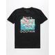 PINK DOLPHIN Triple Portrait Mens T-Shirt