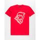 PINK DOLPHIN Splash Emboss Mens T-Shirt