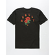 HURLEY Roses For All Mens T-Shirt