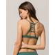 RVCA Solid Strappy Bralette Bikini Top