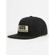 VANS Rowley Black Mens Snapback Hat