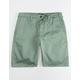 HURLEY Icon Green Mens Chino Shorts