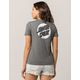 SANTA CRUZ Missing Dot Grey Womens Tee