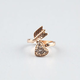 FULL TILT Heart/Arrow Wrap Ring