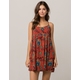 ROXY Tropical Sundance Babydoll Dress