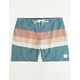 RHYTHM Vintage Stripe Mens Boardshorts