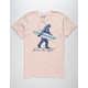 RIOT SOCIETY Sasquatch Surf Mens T-shirt
