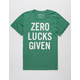 TIPSY ELVES Zero Lucks Given Mens T-Shirt