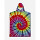 LEUS Conner Coffin Tie Dye Poncho Kids Towel