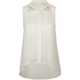 ALI & KRIS Stud Collar Chiffon Womens Top