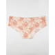 FULL TILT Printed Laser Cut Nude Panties
