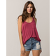 BOZZOLO Rose Womens Pocket Tank Top