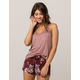 BOZZOLO Blush Womens Pocket Tank
