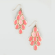 FULL TILT Epoxy Chandelier Earrings