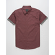SHOUTHOUSE La Brea Burgundy Mens Shirt