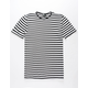 RSQ Stripe Split Hem Mens T-Shirt