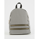QUPID Striped Mini Backpack