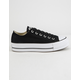 CONVERSE Chuck Taylor All Star Lift Black Womens Low Top Shoes
