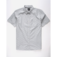 HURLEY Pescado Light Grey Mens Shirt
