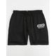 VOLCOM Booker Black Mens Sweat Shorts