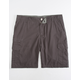 SUBCULTURE Textured Grey Mens Cargo Shorts